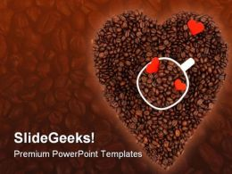 Coffee Lover Food PowerPoint Templates And PowerPoint Backgrounds 0311