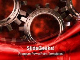 Cogs Gears Industrial PowerPoint Templates And PowerPoint Backgrounds 0511