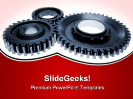 Cogs Industrial PowerPoint Templates And PowerPoint Backgrounds 0611