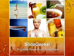 Collage Health PowerPoint Templates And PowerPoint Backgrounds 0411