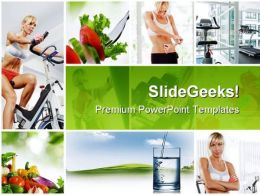 Collage Health PowerPoint Templates And PowerPoint Backgrounds 0511