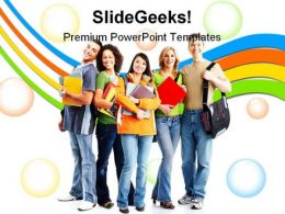 Collage Students Education PowerPoint Backgrounds And Templates 1210