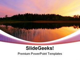 Color Reflection Nature PowerPoint Templates And PowerPoint Backgrounds 0311