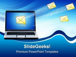 Communication Concept01 Computer PowerPoint Templates And PowerPoint Backgrounds 0311