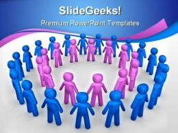 Community Business PowerPoint Templates And PowerPoint Backgrounds 0511