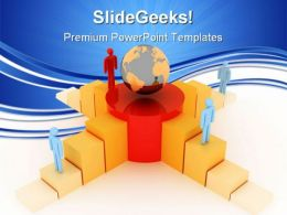 Competition Concept Global Business PowerPoint Templates And PowerPoint Backgrounds 0611