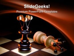 Competitors Game Leadership PowerPoint Templates And PowerPoint Backgrounds 0311
