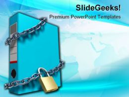 Confidential Files Security Template 1010