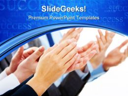 Congratulations01 Success PowerPoint Templates And PowerPoint Backgrounds 0811