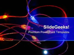 Connections Technology PowerPoint Templates And PowerPoint Backgrounds 0511