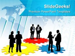 Corporate Machinery Business PowerPoint Templates And PowerPoint Backgrounds 0511