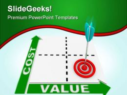 Cost Value Business PowerPoint Templates And PowerPoint Backgrounds 0411