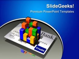 Credit Card Statistics Business PowerPoint Templates And PowerPoint Backgrounds 0811