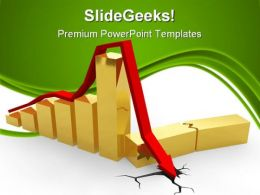 Crisis Chart Business PowerPoint Templates And PowerPoint Backgrounds 0511