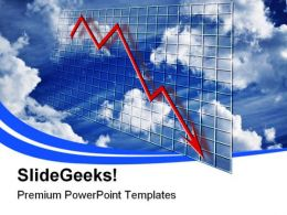 Crisis Chart Business PowerPoint Templates And PowerPoint Backgrounds 0811