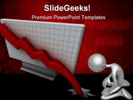 Crisis Finance PowerPoint Template 0610