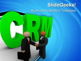 Crm Business PowerPoint Templates And PowerPoint Backgrounds 0611