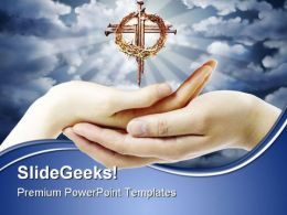 Cross Faith Religion PowerPoint Templates And PowerPoint Backgrounds 0611