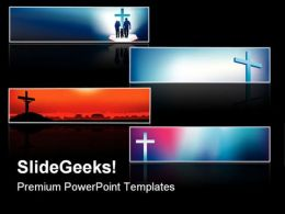 Cross Faith Religion PowerPoint Templates And PowerPoint Backgrounds 0811