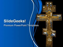 Cross Religion PowerPoint Templates And PowerPoint Backgrounds 0211