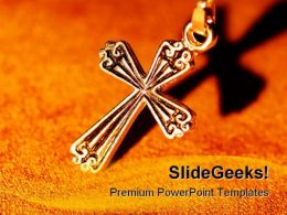 Cross Religion PowerPoint Templates And PowerPoint Backgrounds 0411