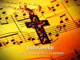 Cross Religion PowerPoint Templates And PowerPoint Backgrounds 0711