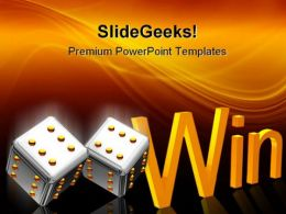 Cube Win Business PowerPoint Templates And PowerPoint Backgrounds 0211