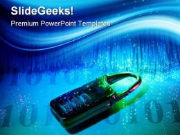 Data Security Internet PowerPoint Templates And PowerPoint Backgrounds 0511