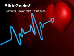 Deadline Heartbeat Medical PowerPoint Templates And PowerPoint Backgrounds 0511