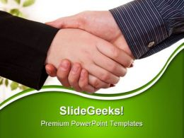 Deal Business PowerPoint Templates And PowerPoint Backgrounds 0811