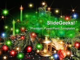 Decorations01 Christmas PowerPoint Template 0610  Presentation Themes and Graphics Slide01