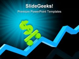 Diagram And Dollar Business PowerPoint Templates And PowerPoint Backgrounds 0511