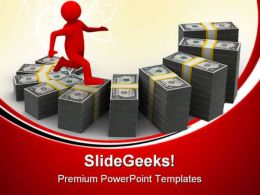 Diagram Of Financial Business PowerPoint Templates And PowerPoint Backgrounds 0411