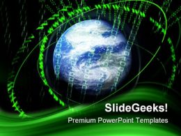 Digital Global PowerPoint Templates And PowerPoint Backgrounds 0411
