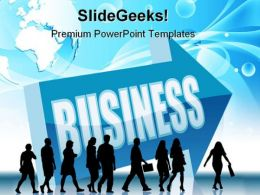 Direction Business People PowerPoint Templates And PowerPoint Backgrounds 0611