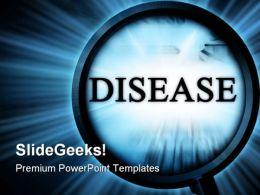Disease Medical PowerPoint Template 0610