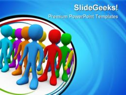 Diverse People Global PowerPoint Templates And PowerPoint Backgrounds 0611