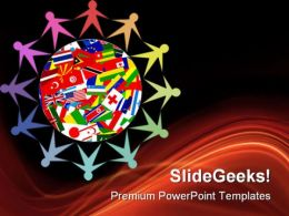Diverse World Global PowerPoint Templates And PowerPoint Backgrounds 0711