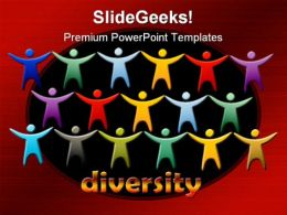 Diversity People PowerPoint Template 0510