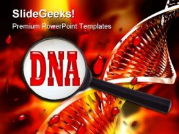 Dna Medical PowerPoint Template 1110
