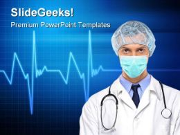 Doctor Hospitality PowerPoint Templates And PowerPoint Backgrounds 0611