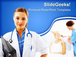 Doctor Medical PowerPoint Templates And PowerPoint Backgrounds 0511