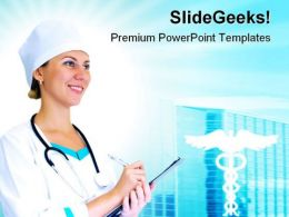 Doctor Medical PowerPoint Templates And PowerPoint Backgrounds 0611