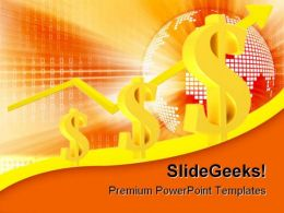 Dollar Growth Future PowerPoint Template 0910