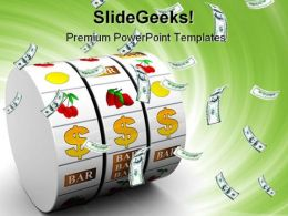 Dollar Jackpot Money PowerPoint Templates And PowerPoint Backgrounds 0211