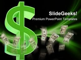 Dollar Money PowerPoint Templates And PowerPoint Backgrounds 0211