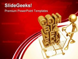 Domain Shopping E Commerce Technology PowerPoint Templates And PowerPoint Backgrounds 0611