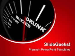 Drunk Buzzed Business PowerPoint Templates And PowerPoint Backgrounds 0811