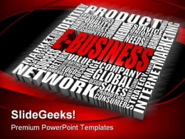 E Business Future PowerPoint Template 1110