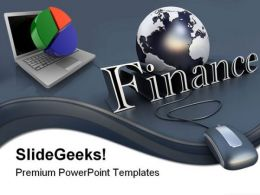 E Finance Internet Global PowerPoint Templates And PowerPoint Backgrounds 0611